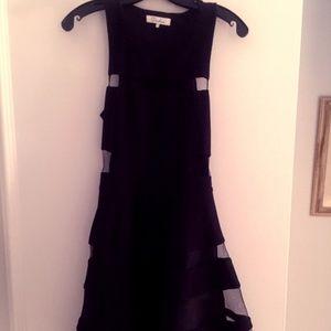 Black and Sheer Parker Dress!
